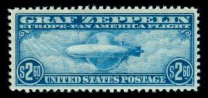 momen: US Stamps #C15 GRAF ZEPPELIN MINT OG NH PSE CERT VF/XF