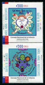 HERRICKSTAMP NEW ISSUES CHILE Council for Children & Teens Setenant