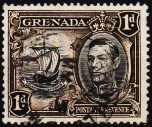 Grenada. 1938 1d S.G.154a Fine Used