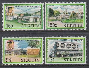 St Kitts 324-327 MNH VF