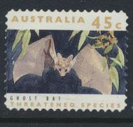 Australia SG 1332  Used perf 11½ Threatened Species -Ghost Bat