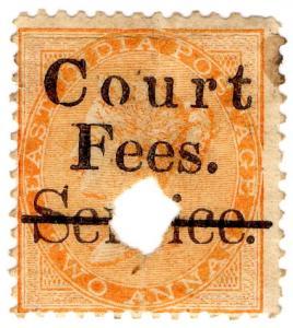 (I.B) India Revenue : Court Fees 2a (Service OP)