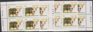 Canada USC #1372 Mint MS Ashton Potter IB's VF-NH Cat.$50 1992 Bartlett Pear