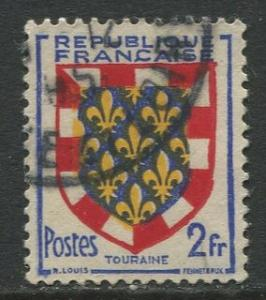 France - Scott 662 - General Definitive Issue -1951 - Used -2fr Stamp