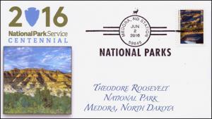 2016, National Parks, Centennial, Theodore Roosevelt, BW, Medora AZ, 16-166
