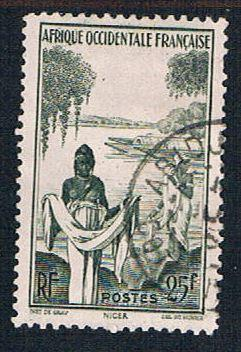 French West Africa 54 Used Agni Woman (BP10213)