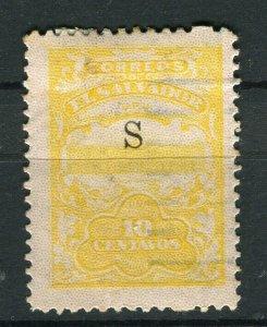 SALVADOR; 1915-16 Unissued Remainders ' S ' Optd fine Mint hinged 10c. value