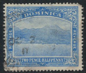 Dominica #53 rounded corner  CV $9.75