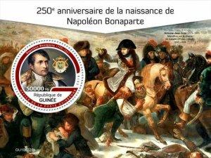 Z08 IMPERF GU190228b GUINEA (Guinee) 2019 Napoleon Bonaparte MNH ** Postfrisch