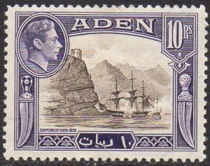 Aden 1939 10r Capture of Aden, 1839 MH