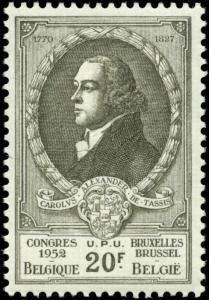 Belgium Scott #445 Mint