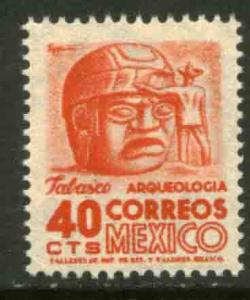 MEXICO 862, 40cents 1950 Definitive 1st Printing wmk 279. MINT, NH. F-VF.