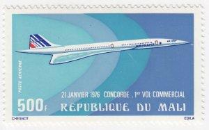 Mali, Sc C270, MNH, 1976, Concorde