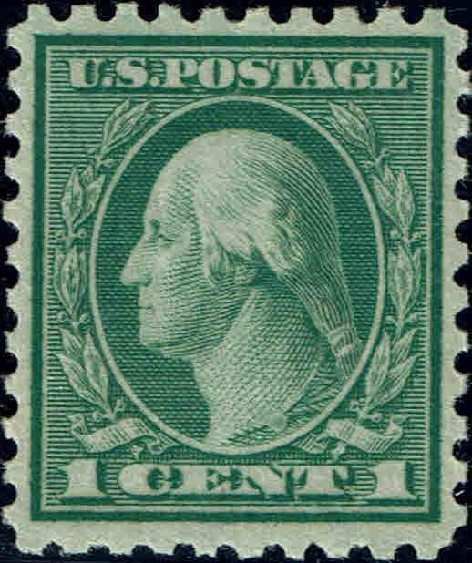 #543 1921 1 CENT PERF 10 COIL WASTE ISSUE MINT-OG/NH--XF
