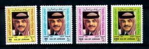[91753] Jordan 1987 King Hussein  MNH