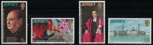 Jersey 26-29 Liberation From Germany-Churchill MNH
