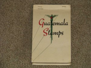 SMALL LOT OF GUATEMALA STAMPS IN SMALL BOOKLET, USED & UNUSED