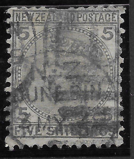 New Zealand #60 Used.