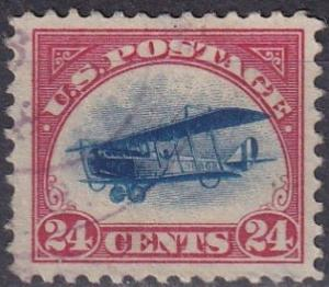 US #C3 F-VF Used  CV $30.00  (A19296)