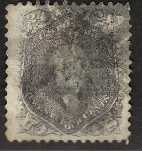United States #78a Used Jumbo VF Messy Cancel Sc $300...Make me an Offer!