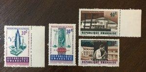 Vintage Postage Stamp REPUBLIQUE RWANDAISE ,old Stamps,MNH 1964