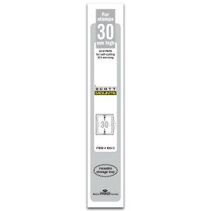Scott/Prinz Pre-Cut Strips 215mm Long Stamp Mounts 215x30 #925 C