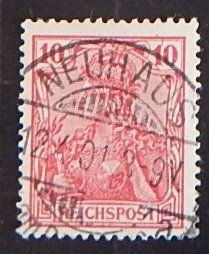REICHSPOST, Germany, 1900, YT #54, (2256-T)