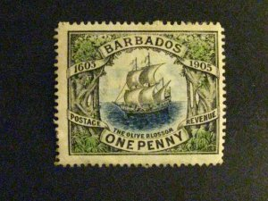 Barbados #109 mint hinged  a198.9212