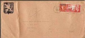 Great Britain - Morocco Agencies 1954 ½d QE II Stamp on Cover cricklewood to...