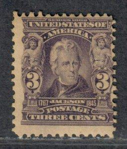 $US Sc#302 M/H/F, Cv. $55