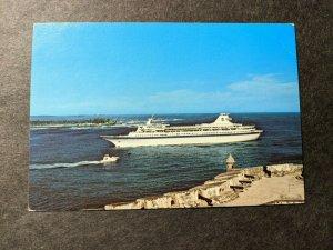 PASSENGER Ship SS NORDIC PRINCE Naval Cover Unused Postcard San Juan Puerto Rico