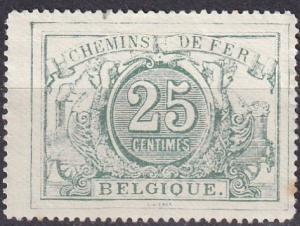 Belgium #Q10 F-VF Used CV $4.25  (A18540)