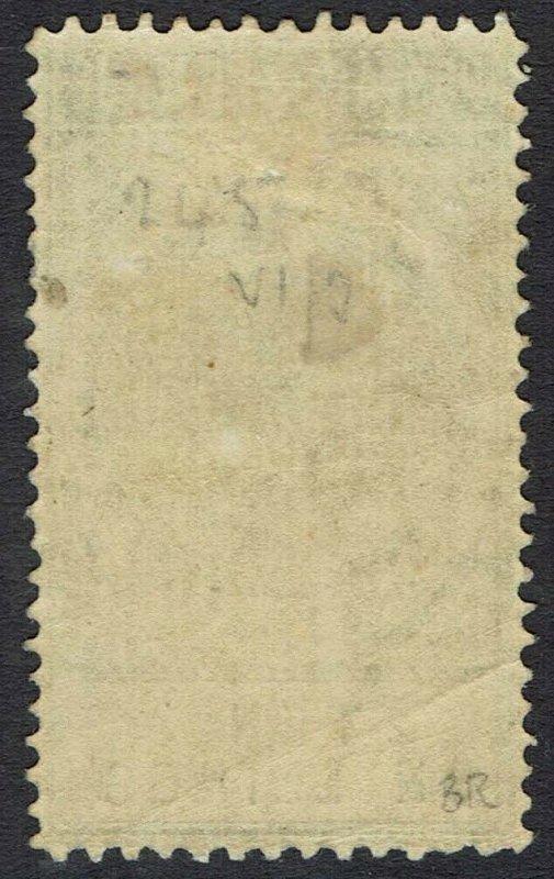 SOUTH AUSTRALIA 1886 QV POSTAGE & REVENUE 10/- PERF 11.5-12.5