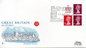 1979 Sg FA10 London 1980 International Stamp Exhibition 10p Booklet FDC