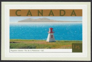 LIGHTHOUSE = MAGDALEN ISLANDS = small cut from booklet Canada 2003 #1990d MNH