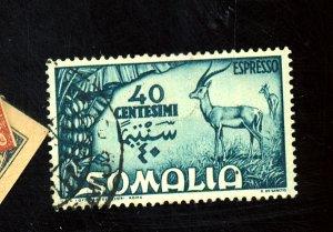 SOMALIA #E8 USED F-VF HR Cat $14