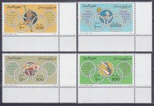 1996 Somalia 592-596 1996 Olympic Games in Atlanta 11,00 €