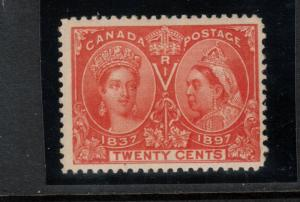 Canada #59 Mint Fine Never Hinged