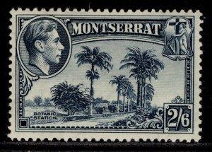 MONTSERRAT GVI SG109, 2s 6d slate-blue, M MINT. Cat £45. PERF 13