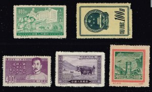 CHINA STAMP  MINT STAMP COLLECTION LOT #J31