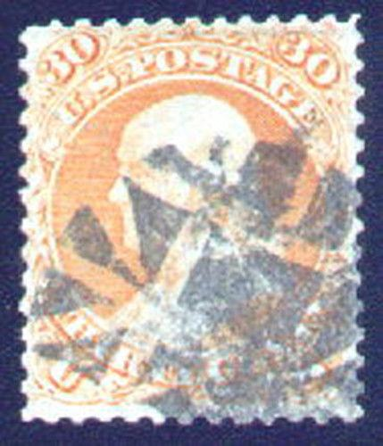 MALACK 71 VF for issue, nice fancy cancel, t3911
