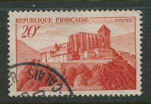 France - Scott 630 - General Issue -1949 - FU -Single 20fr Stamp