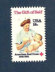 1910 American Red Cross US Single Mint/nh (Free Shipping)