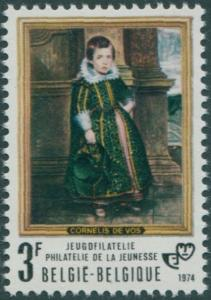 Belgium 1974 SG2360 3f Philately For The Young painting MNH