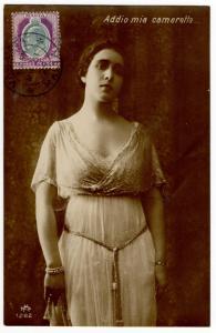 (I.B) Malta Postal : Postcard (Valetta 1924)