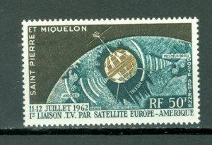 ST.PIERRE & MIQUELON  SATELITE #C26...MNH...$7.25