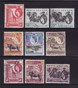 Kenya, Uganda, Tanzania 104-110, 112-113 U Elizabeth II