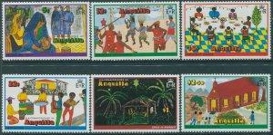 Anguilla 1978 SG331-336 Christmas set MNH