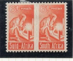 South Africa 1942-44 Early Issue Fine Mint Hinged 6d. 314926