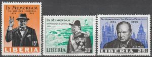 Liberia #432-3, C170  MNH F-VF  (V3405)